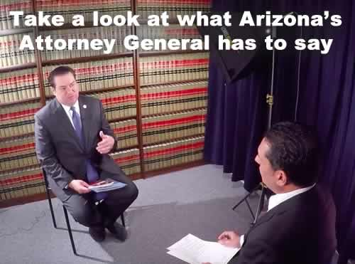 Arizona's Attorney General speaks out on video