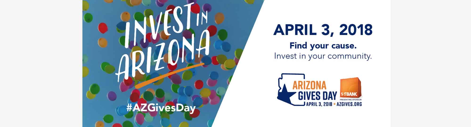 Arizona Gives Day - support TRUST